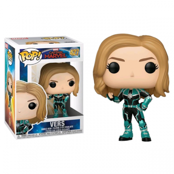 427 Captain Marvel Vers Funko Pop