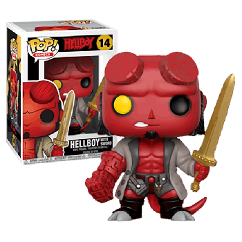 14 Hellboy with sword Funko Pop