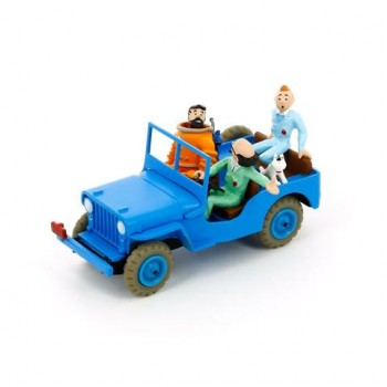 Blue Jeep from Destination Moon