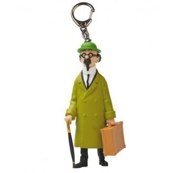 Professor Calculus and his briefcase Keyring (Large)