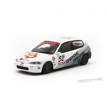 Tarmac Works 1/64 Honda Civic EG6 Suzuka (Bride)