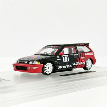 Inno64 Honda Civic EF9 Advan Kanjo Racer Singapore Special Edition