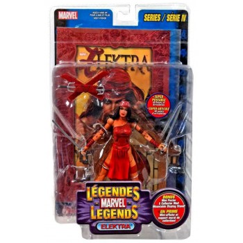 Marvel Legends Series 4 Elektra Action Figure Toybiz