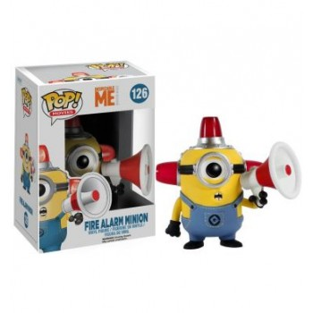 FUNKO POP! MOVIES 126: DESPICABLE ME - FIRE ALARM MINION