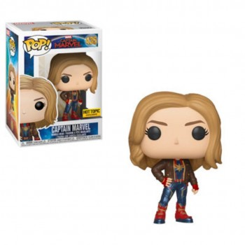 435 Captain Marvel with Jacket (Exclusive) Funko Pop