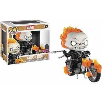 33 Ghost Rider Glow-In-The-Dark Exclusive Funko Pop