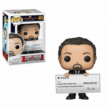 472 Spider-Man Far From Home Happy Hogan Funko Pop