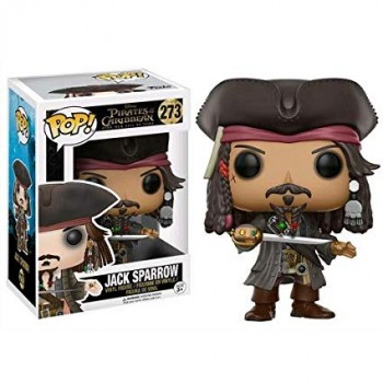 Pirates of The Caribbean Jack Sparrow (273) Funko Pop