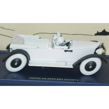 Tintin's Mercedes Torpedo In Tintin in the Land of the Soviets