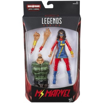 Marvel Legends Sandman Series Ms. Marvel Action Figure [Kamala Khan] Hasbro
