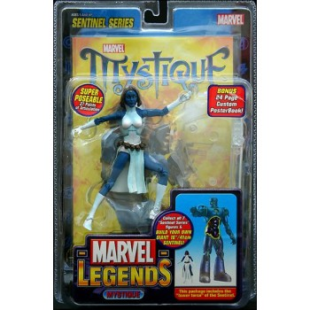 Marvel Legends X-Men Mystique Action Figure Toybiz New Sentinel Series 2005.