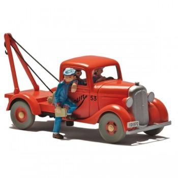 The Simoun pickup truck in Tintin in the Land of Black Gold