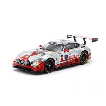 Tarmac Works 1/64 Mercedes-AMG GT3 Spa 24h 2016 (Linkin Park livery)