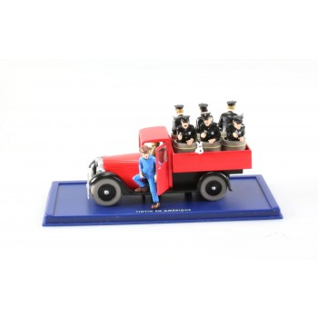 Miniature Car From Tintin in America