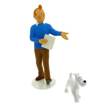 Tintin & Snowy statue Musée Imaginaire collection