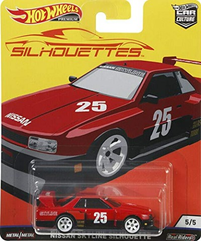 Nissan Skyline Silhouette Hot Wheels Car Culture