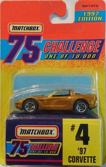 Matchbox Gold Challenge  #4 '97 Corvette