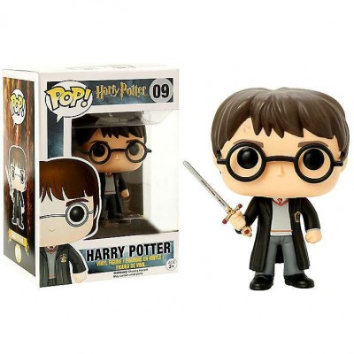 09 Harry Potter with Sword Of Gryffindo