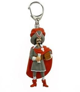 Red Rackham keyring (large)