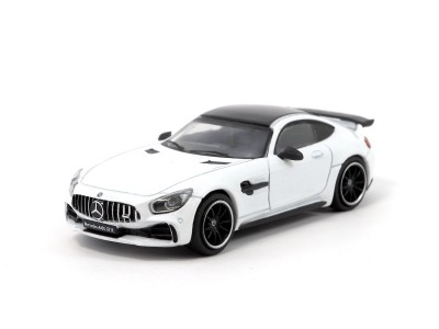 Tarmac Works 1/64 Mercedes-AMG GT R - White